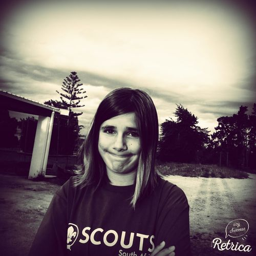 Portrait on the farm Quality Time Southafrica Scouts Sea Scout Garden Farm Life
