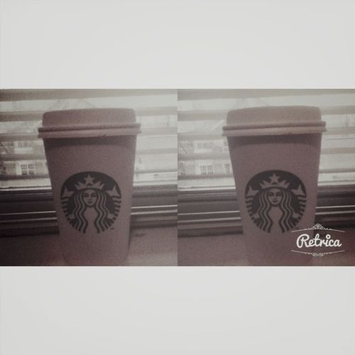 First time having Starbucks! It was awesome!!! ???✨?