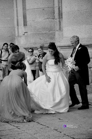 Wedding in San Lorenzo De El Escorial Españoles Y Sus Fotos Peoplephotography Black And White