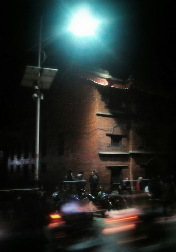 Night Photography Night Lights Low Resolution First Eyeem Photo Mobilephotography Basantapur Durbar Square Temple Street Photography First Eyeem Pic