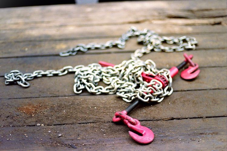 Pink Chain Pink NYC Nikon FE