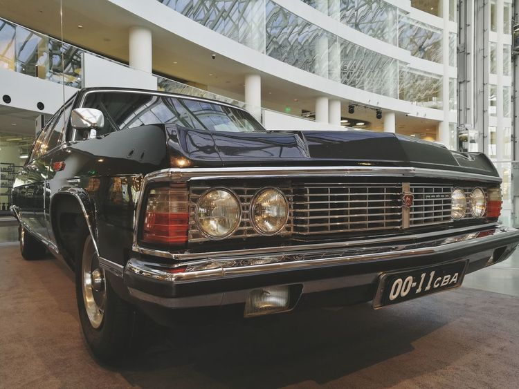 Car of first president of Rusia. Transportation Old-fashioned Mode Of Transport Retro Styled Headlight Land Vehicle Car Style Boris President Oldcar Fashion Beauty