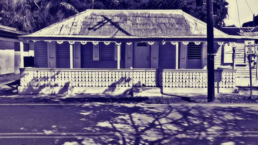 Built Structure Architecture Day No People Building Exterior Outdoors Black And White Mobile Photography St. Croix USVI