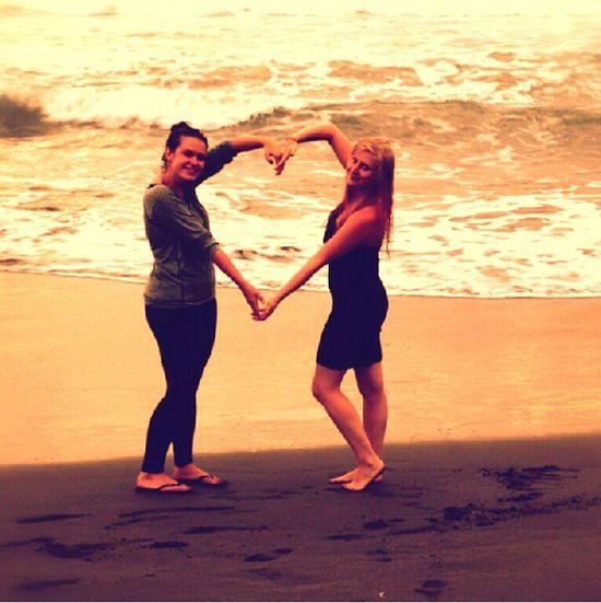 Costarica Friends ❤ Beach Holiday♡