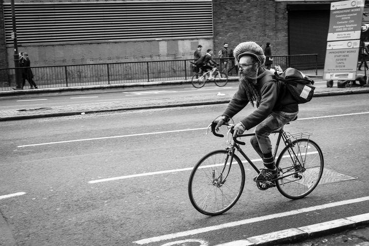 Celebrate Your Ride Cycling Dreads Beardlife Beard FUJIFILM X-T1 Street Photography London