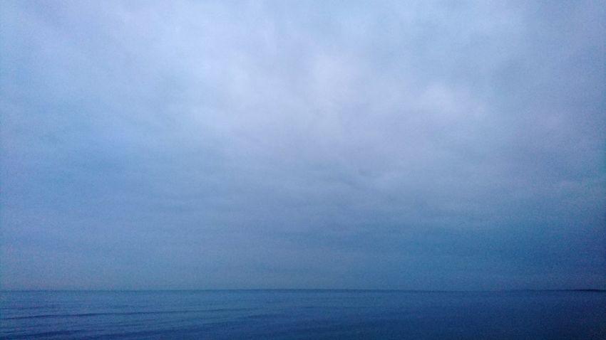 unbeschreiblich... Friedlich Blue Sea Sky Horizon Over Water