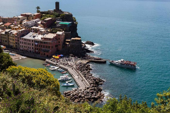 5 Terre Architecture Building Exterior Built Structure Day Fisherman Village Flower High Angle View Italy Landscape Liguria Mediterranean  Nature No People Outdoors Sea Tourism Travel Destinations Water