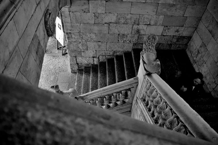 Casaconchas Escalera S Salamanca Stairs Streetphoto_bw Streetphotography Urban