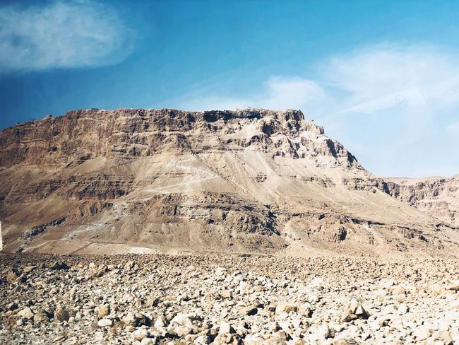 Masada Nature Beauty In Nature Landscape Tranquil Scene Scenics Tranquility Geology