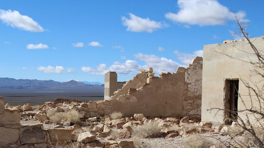 Ghost Town Tadaa Community Nevada Desert Desert Desert Landscape Ghost Town Cloud - Sky Sky Architecture Built Structure Day Building Exterior Outdoors