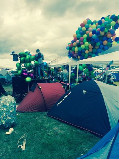 The Journey Is The Destination Roskilde Festival Fly Away Balloons Camp Whoneedssleep Whoneedstv