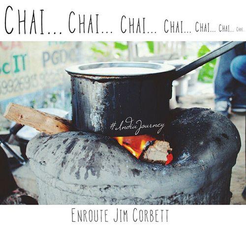 Chai Jimcorbett IndiaJourney India Indiantea Indiapictures Indiaphotos Incredibleindia Tea Earlymorning