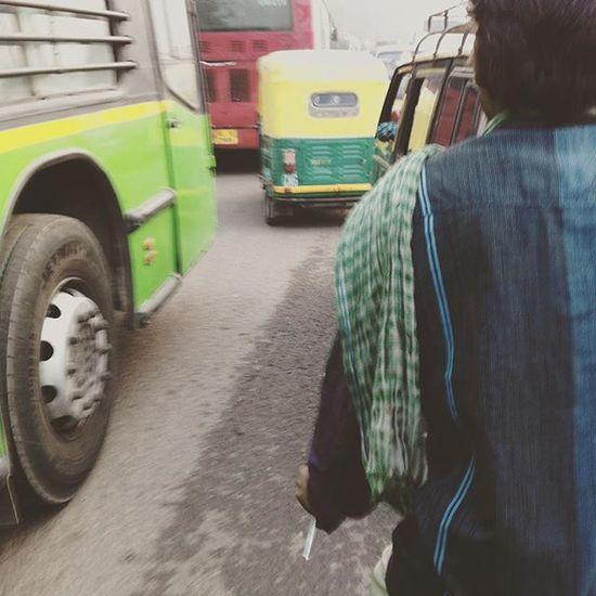 New Delhi Traffic.. Madness Rachatravelsindia Newdelhi
