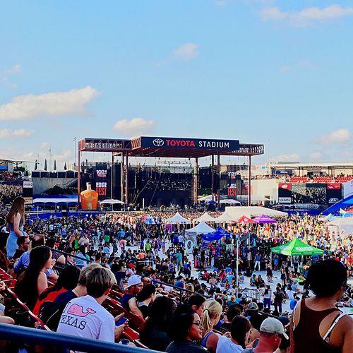 Edge Fest 2016 Festival Season Concerts Concert Frisco Texas Frisco Toyota Stadium,