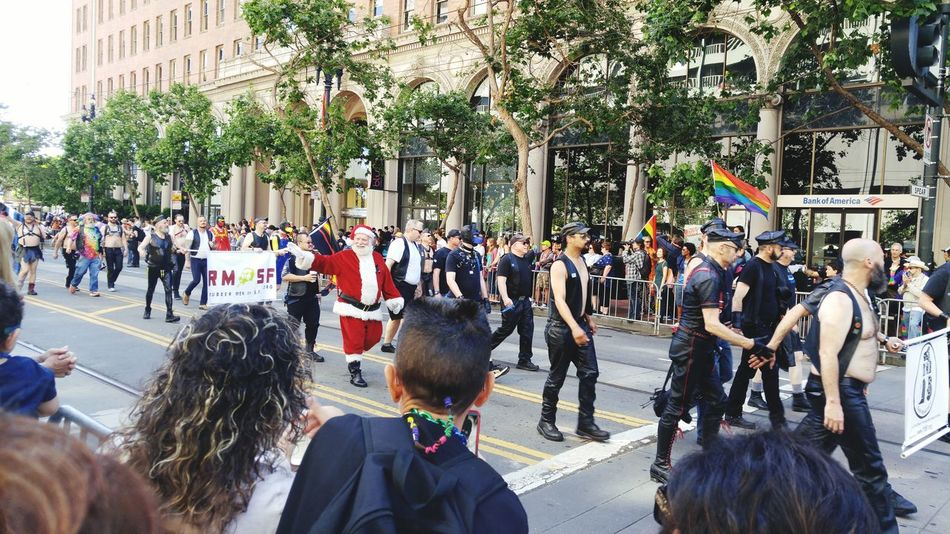 Leatherman Hanging Out Taking Photos Check This Out Enjoying Life Bayareaphotography Love ♥ Pride2016 Prideparade