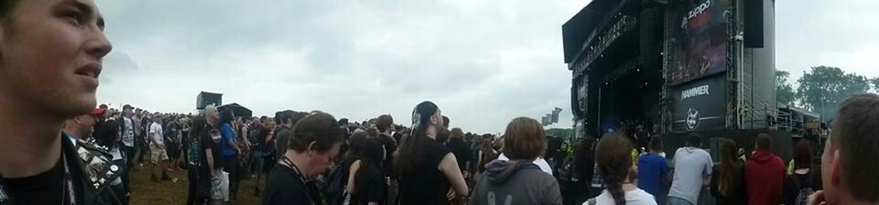 The Fan Club download 2014 (Donington Park) waiting for the next band to start! Summer Outside Festival Rocking Out Leather Jacket Punks Metalhead Devotion For The Love Of Music