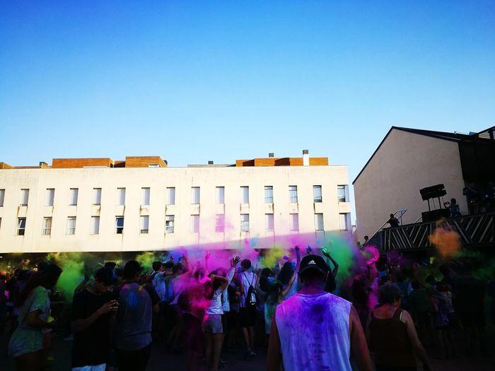 Festa!! People Multi Colored Summer HuaweiP9 EyeEm Celebration Huawei Leica P9 Partymusic Holiparty The Street Photographer - 2017 EyeEm Awards