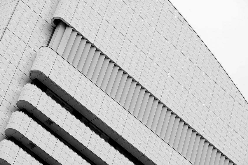 Façade Abstract Architectural Feature Architecture Building Exterior Built Structure Low Angle View Modern Skyscraper The Architect - 2018 EyeEm Awards