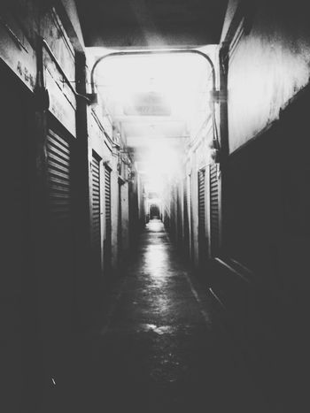 Horror path Vanishing Point Blackandwhite Eyeem Philippines Potpotography