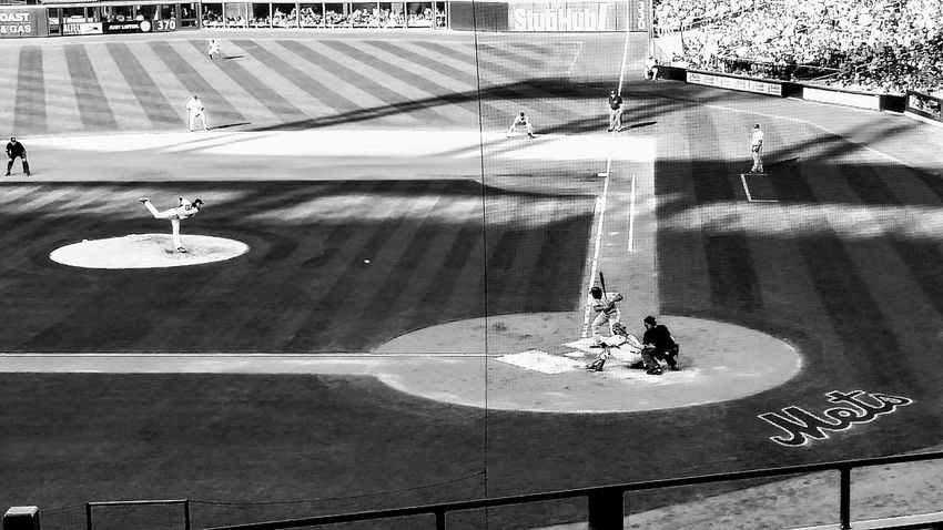 hopefully this season will be a bit better Citifield Baseball Mets NYMets Queens City Life Queens NYC NYC USA NYC Street Photography NYC Photography Water Road Shadow Street High Angle View