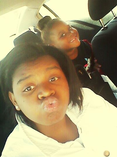yesterday with lil cousin