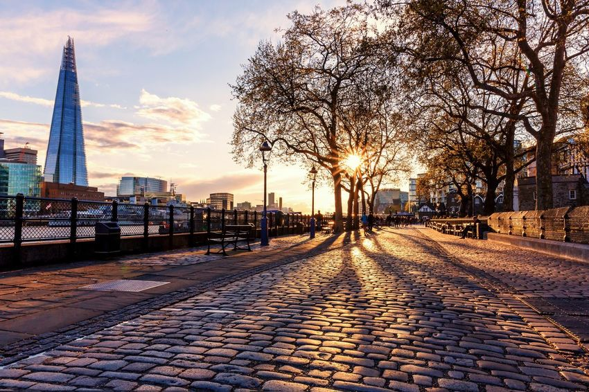 Tower Hill pathway Thames Path Cobblestone EyeEm Selects England Sunset By The River Thames LONDON❤ Bare Tree Building Exterior Architecture Sky City Sunset Shard Landmarkbuildings Pavement Light And Shadow Sunburst Uk Lampost By The Tower Hill Fence People HMS Belfast London Sunburst Through Trees The City Light The Great Outdoors - 2017 EyeEm Awards Stories From The City The Great Outdoors - 2018 EyeEm Awards 10 My Best Travel Photo