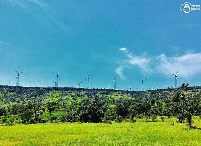 Landscape Sahyadri Koyana Dam Instalike Nature Green Blue Sky Instanature Instaevening Insta Instalovers Windmills Insatamood Instaclick Instadaily Instaphotographer Mobile Click Mobilephotography Asus Zenfoneglobal Zenfone2