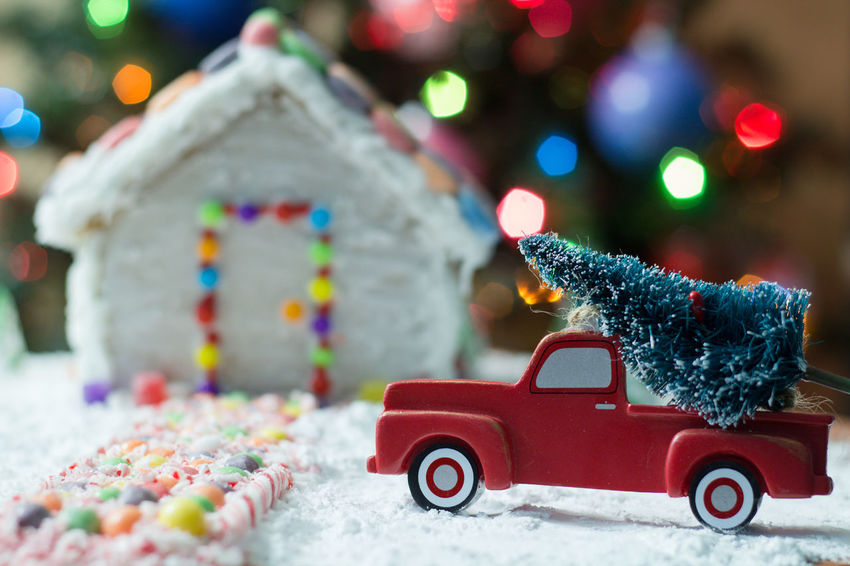Christmas tree for the Gingerbread house Gingerbread Holiday Food Truck Gingerbreadhouse Gingerbread House Red Truck Background Christmas Bokeh Christmas Tree EyeEm Selects Food Candy Cane Bokeh Candy Treat Candycane  Holidays Toy Christmas Decoration Red Multi Colored Christmas Winter Toy Car No People Snowing Snow Snowflake Christmas Present