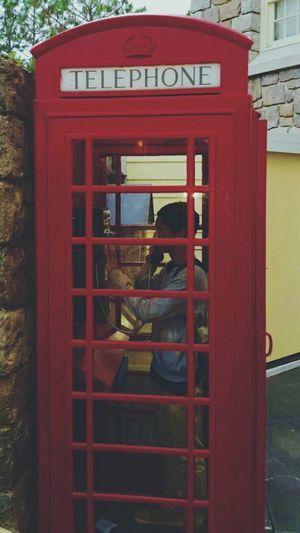 Eyeemphoto Phone Cab London London Phone Box