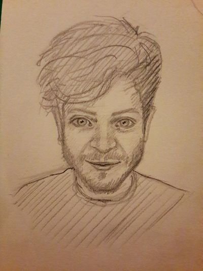 A little quick sketch 🙈😊 7min Sketch Game Of Thrones Iwan Rheon Art ArtWork Art, Drawing, Creativity Draw Drawing Paint Misfits