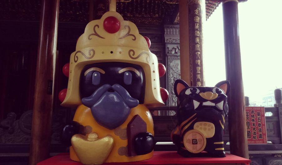 •̀.̫•́✧ 豪可愛oh❣ 保庇保庇(ㆁωㆁ*) 2016 旺旺✨ 北港武德宮 雲林縣 Temple Wu De Temple Cute Buddha Bless Pray Hope Earn Money  New Year 2016 Awsome Amezing Good Happy :) Happy Life