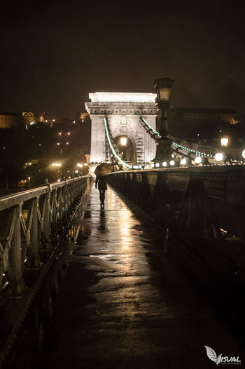 Evening stroll across the Chainbridge in Budapest EyeEmBestPics EyeEm Best Shots Travel Photography Streetphotography Nightphotography