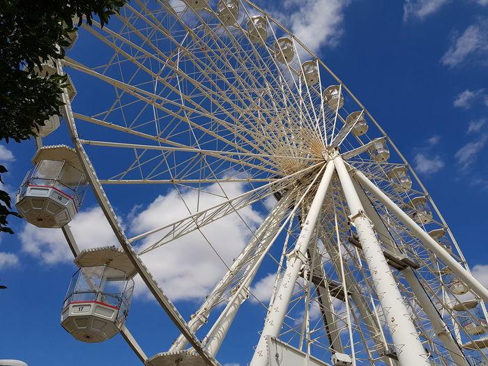 carousel Ferris Wheel City Amusement Park Ride Blue Amusement Park Tree Arts Culture And Entertainment Sky Carousel Ride