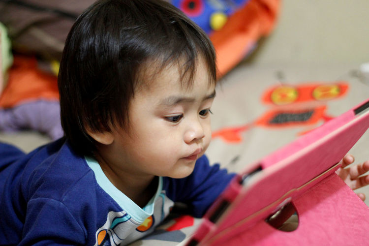 Bedroom Boys Childhood Close-up Day Ezzra Gadget Home Interior Indoors  Learning MySON♥ One Person People Real People