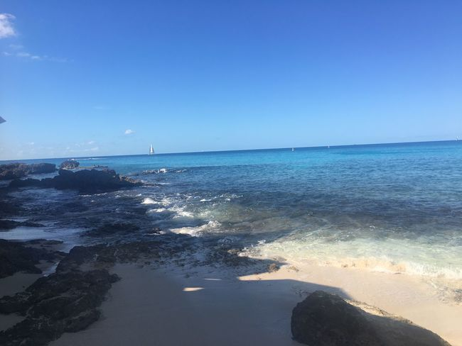 Sea Water Scenics Nature Blue Beauty In Nature Horizon Over Water Clear Sky Sunlight Tranquility Beach Sky Outdoors Tranquil Scene Day No People