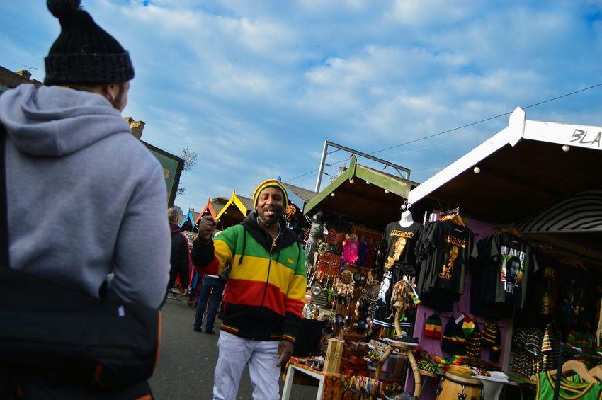"""bless up king"" RASTA Irie Jamaica Camden Streetphotography Streetstyles People Culture Market London"
