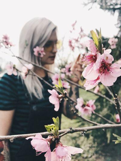 In bloom Girl
