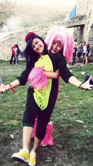 Festival Respublika Friends Costume Girls Color That's Me Enjoying Life Funny Animals