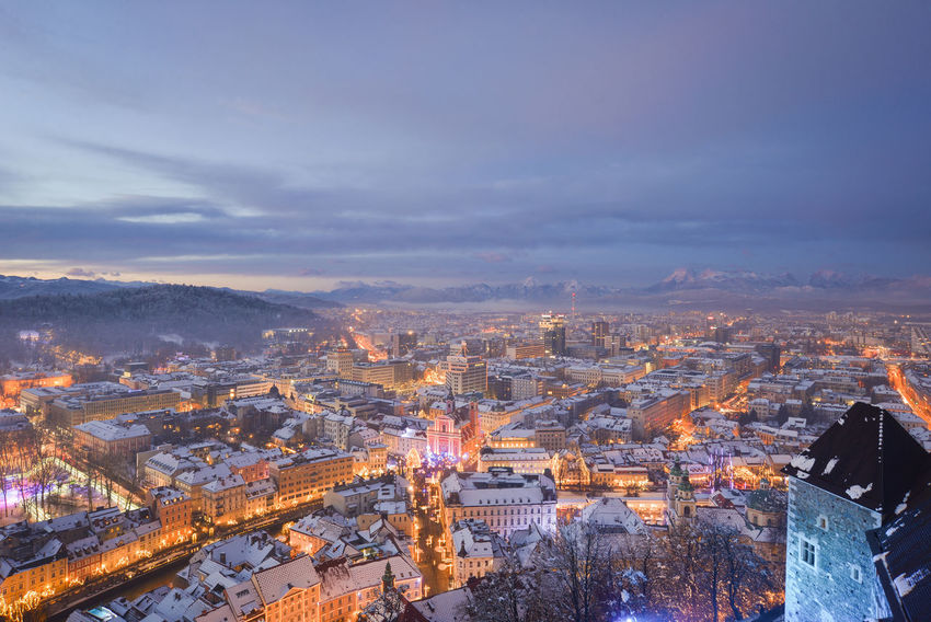 Blue Hour City EyeEm EyeEm Best Shots Ljubljana Ljubljana, Slovenia Slovenia Snow ❄ Winter Winterscapes Wintertime Architecture Best Shots Building Exterior Built Structure City Cityscape Cloud - Sky Community Day High Angle View Illuminated Ljubljana Castle Ljubljanacity Ljubljanamoments Nature No People Outdoors Residential Building Sky Slovenija Snow Snowing Winter Wonderland
