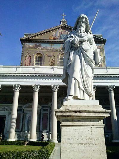 Rome Praying San Paolo Basilicasanpaolo