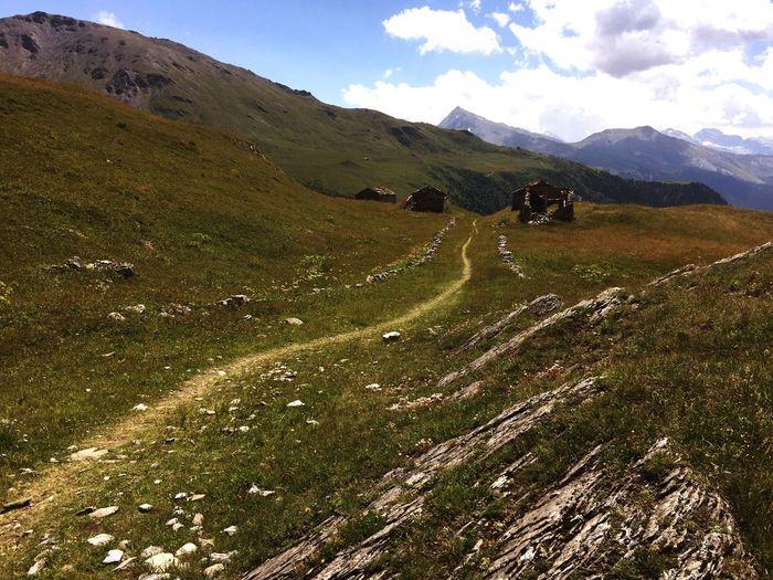 Chavière. Chemin du sel Parc De La Vanoise Mountain Environment Beauty In Nature