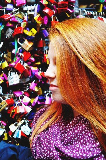 I promise. Ginger Redhead Colours Traveling