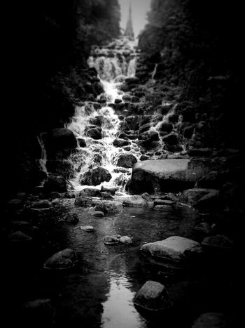 EyeEm Nature Lover Water Reflections Nature_collection Waterfall Blackandwhite Black & White Light And Shadow Darkness And Light Fortheloveofblackandwhite Eye4black&white