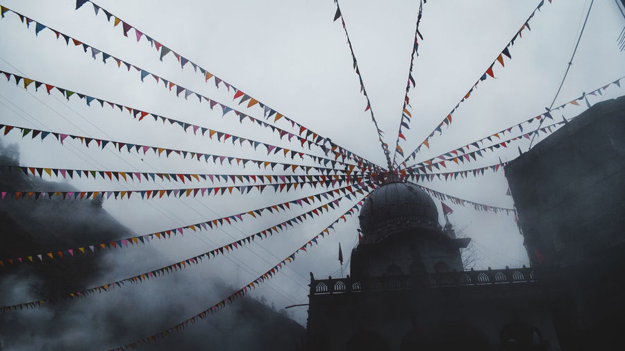 A temple in kasol, india