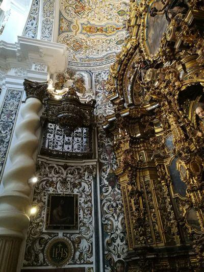 Sevilla Spain A La Gloria Sanluisdelosfranceses Place Of Worship Religion Pattern Spirituality Ornate Close-up Architecture Built Structure Sculpture Statue Golden Color Angel Art Human Representation Sculpted