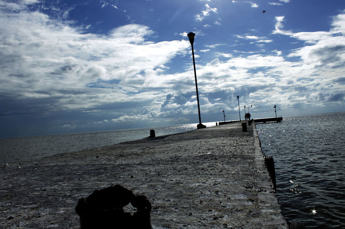 18mm Canon Canonphotography Cloud - Sky Day Dock EyeEm Best Shots Fotografomexicano Horizon Over Water Mestradaphotography Mexico Nature No People Outdoors Scenics Sea Sky Tranquil Scene Tranquility Water