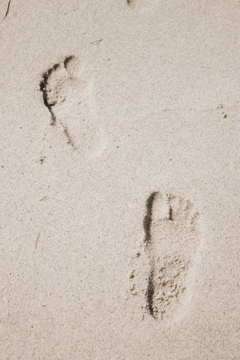 Footprints in