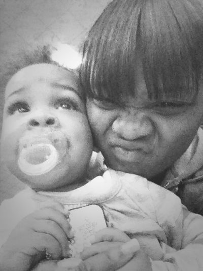 -- Its Always Family Over Everything ... & I Freaking Love This Little Girl Lik She Is Mine ! A'Mor