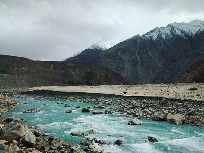 Kashmirdiaries NubraValley Indusriver Freezing JammuandKashmir Coolblue