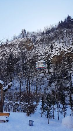 Snow Transportation Cold Temperature Winter Travel Frozen Georgia Extreme Weather Beauty In Nature Snowing Nature Winter Cable Car